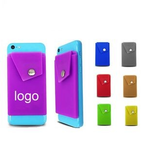 Solf Silicone Snap Phone Wallet