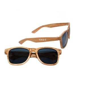UV400 Sun Protection Sunglasses, Wood