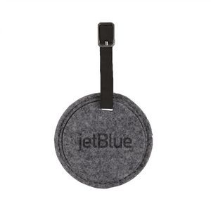 JUNIPER Round Felt Luggage Tag
