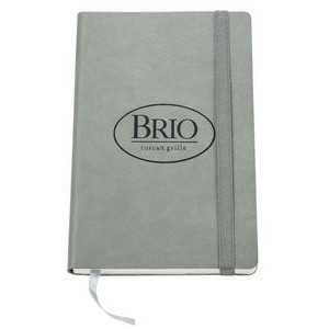 Light Gray Pavia Medium Soft Cover Journal
