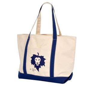 Carmel Classic XL Cotton Canvas Boat Tote