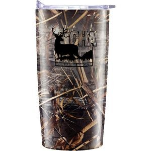 Realtree 20 oz Stainless Vacuum Traveler