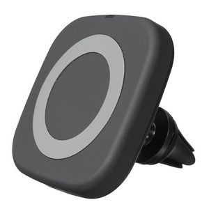 iMojo Qi 1300 Portable Fast-charging Wireless Pad with Air Vent Mount (Black)